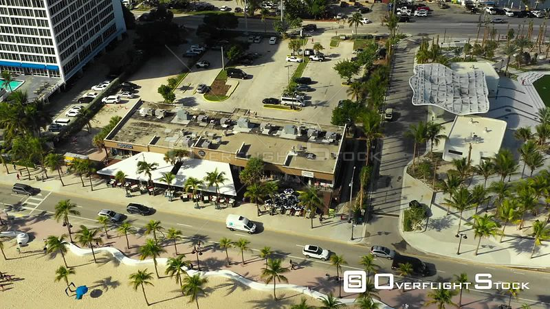 Drone Fort Lauderdale Stock Video Florida