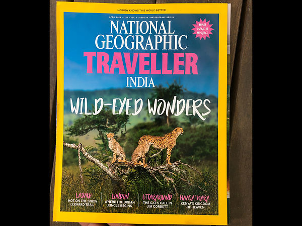 National Geographic Traveller; Kenya Photo Esaay; April 2019