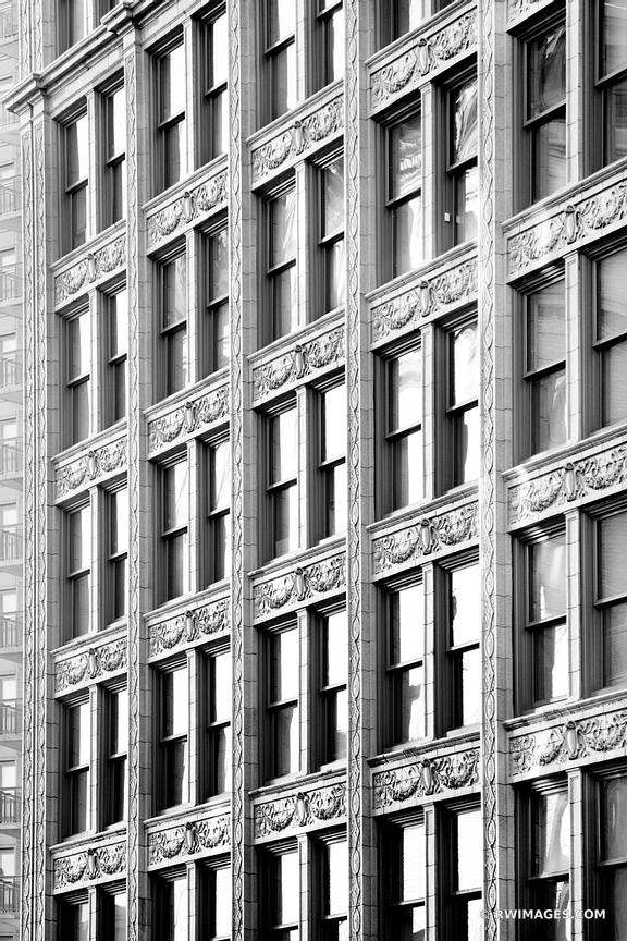 BOSTON ARCHITECTURE ABSTRACT BLACK AND WHITE VERTICAL