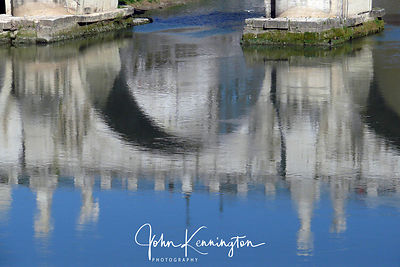 Pontes Sant Angelo Reflection, Rome, Italy