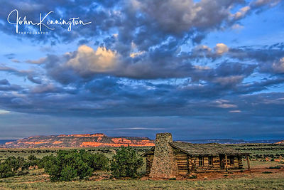 Ghost Ranch Cabin, Abiquiu, New Mexico