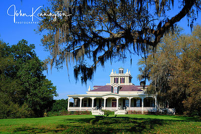 Joseph Jefferson House, Rip Van Winkle Gardens, Jefferson Island, Louisiana