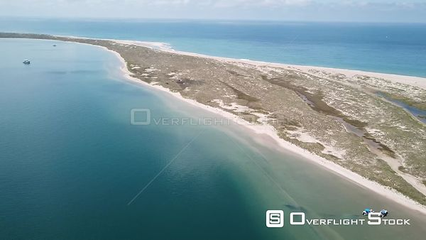 Shelly Island Outer Banks North Carolina Aerial Video