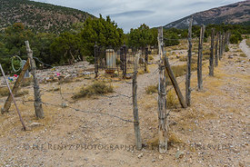 Cemetery in the Ghost Town of Osceola, Nevada