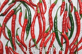 Group of Cayenne Peppers