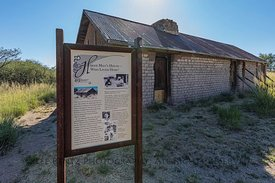 Hired Man's House at Empire Ranch in Arizona