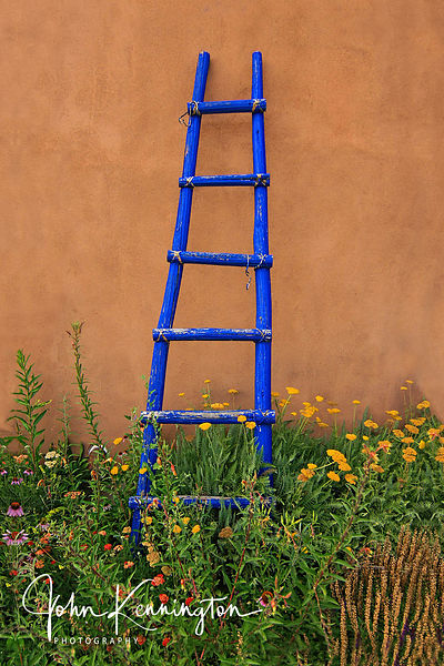 Ghost Ranch Ladder, Abiquiu, New Mexico