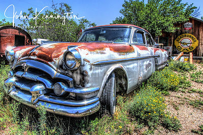 Old Packard, Embudo, New Mexico