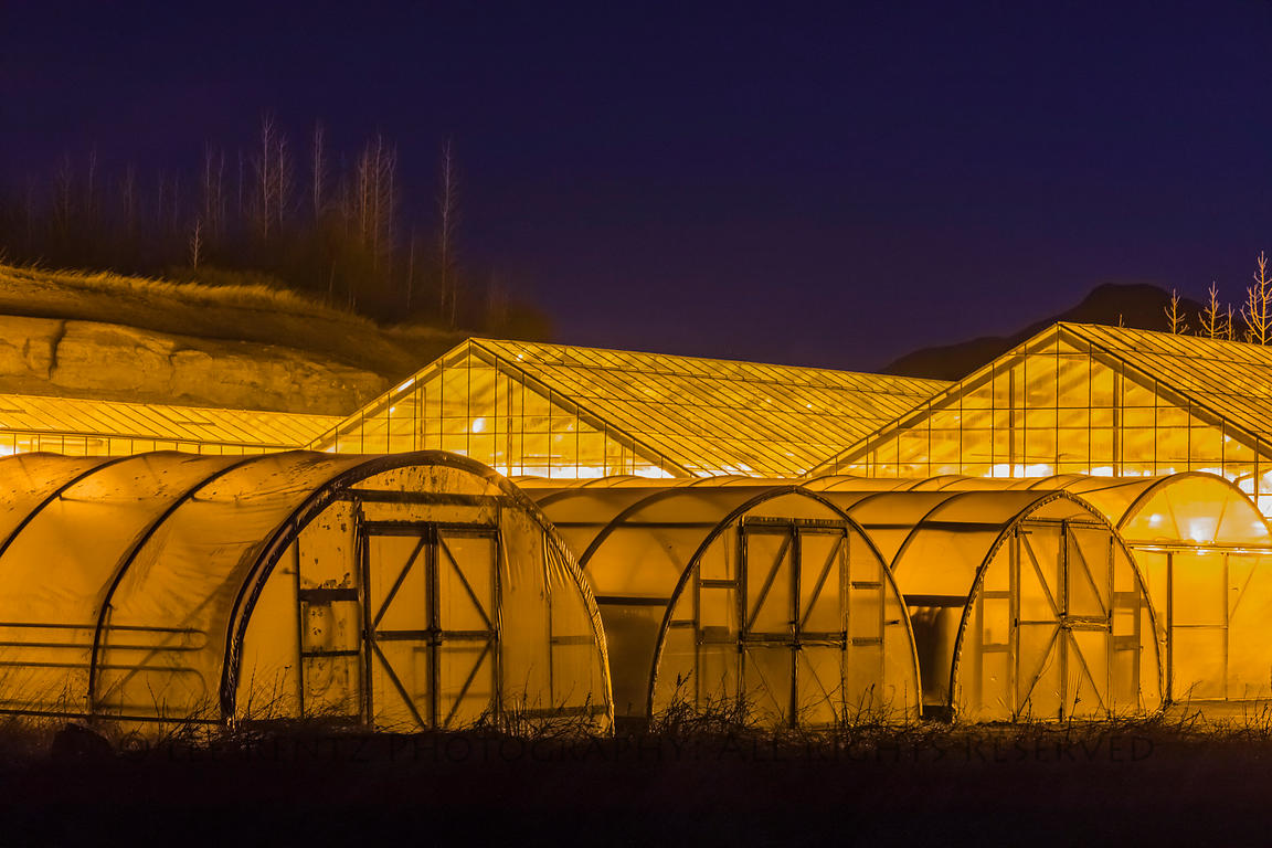 Geothermal Greenhouses in Fludir, Iceland