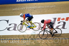 U17 Men Sprint 1/2 Final. 2020 Ontario Track Championships, March 8, 2020