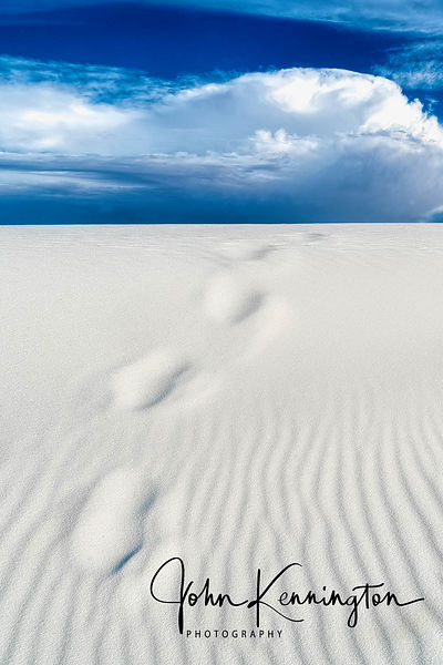 Footprints, White Sands, New Mexico