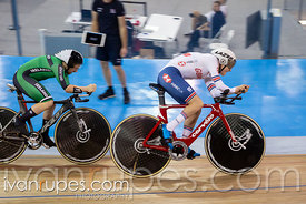 Men C2 Pursuit Qualifying, 2020 UCI Para-Cycling Track World Championships, Day 1 Morning Session, January 30, 2020
