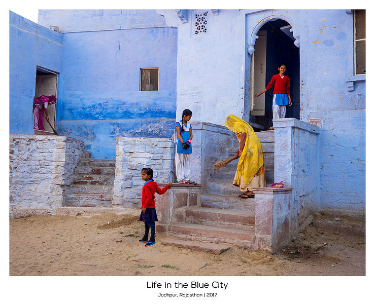 Life in the Blue City