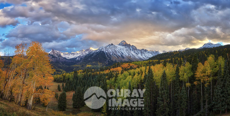 Fall Mount Sneffels at Dusk - Large Print Option