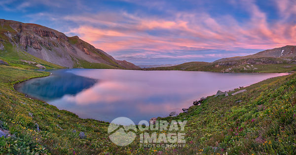 Sunset on Ice Lake, Silverton - Large Print Option