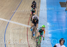Cat C-D Keirin Round 1. Track O-Cup #2, January 12, 2020
