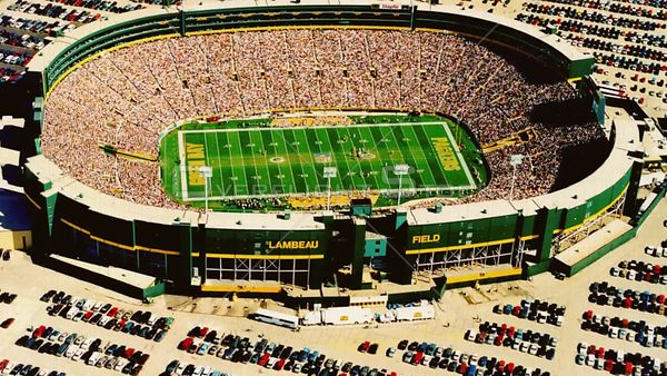 Historic Lambeau Filed Home of Greenbat Packers vs NY Giants