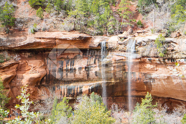 Emerald Pools in Zion National Park, Utah