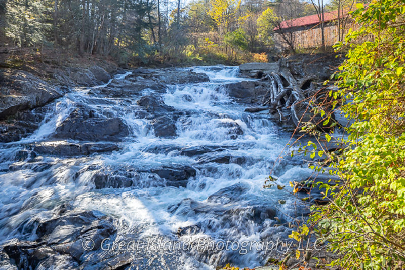 Thetford Center Falls & Covered Bridge