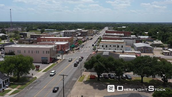 Washington Street, Downtown, Navasota, Texas, USA