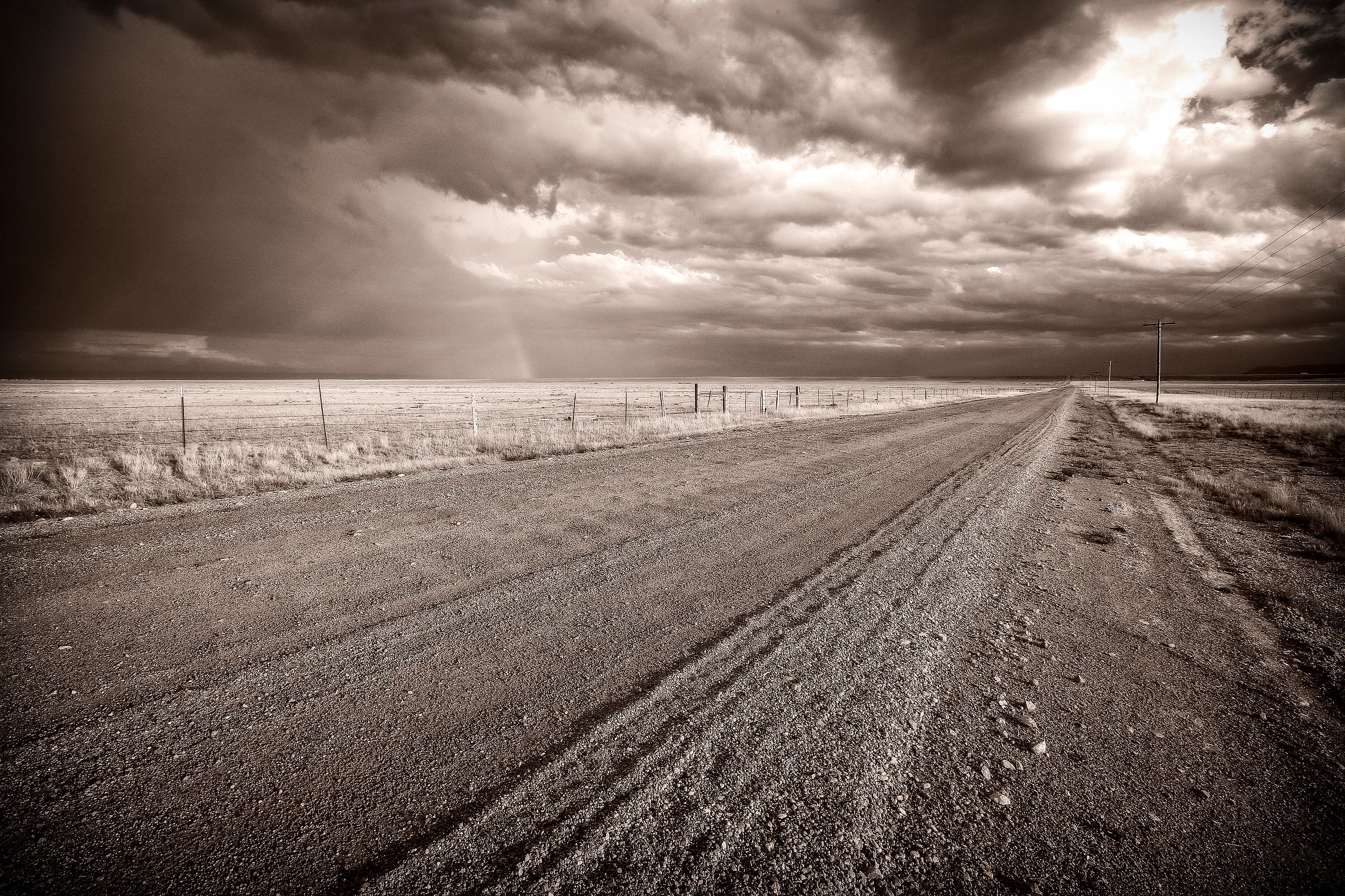 High Plains road and Rainbow