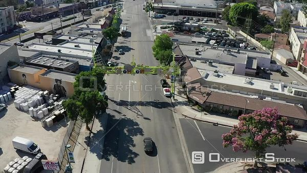 North Hollywood Los Angeles California Drone View
