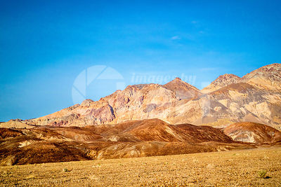 Mountain Ridges in Death Valley National Park