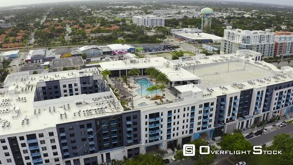 Flagler Village Fort Lauderdale Fl Rooftop Swimming Pool 4k