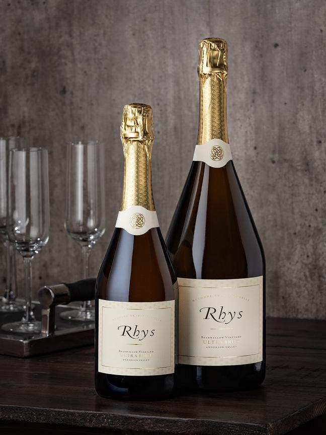 Studio wine photography for Rhys Vineyards, Anderson Valley, by Jason Tinacci