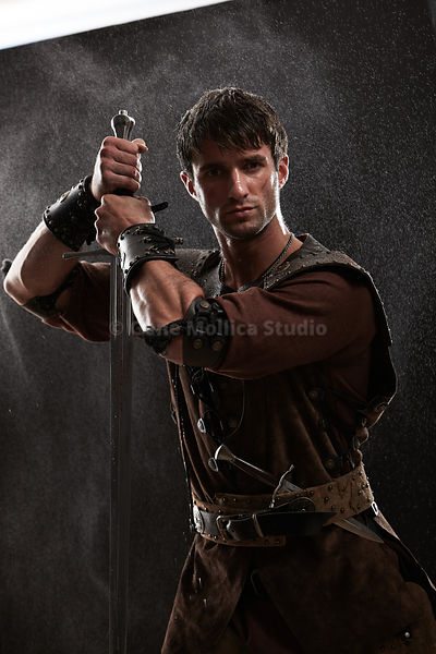 Medieval warrior male