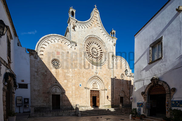 The Concattedrale di Santa Maria Assunta in Cielo in the Historic Center of Ostuni