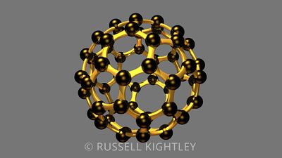 BUCKMINSTERFULLERENE: C60 molecules
