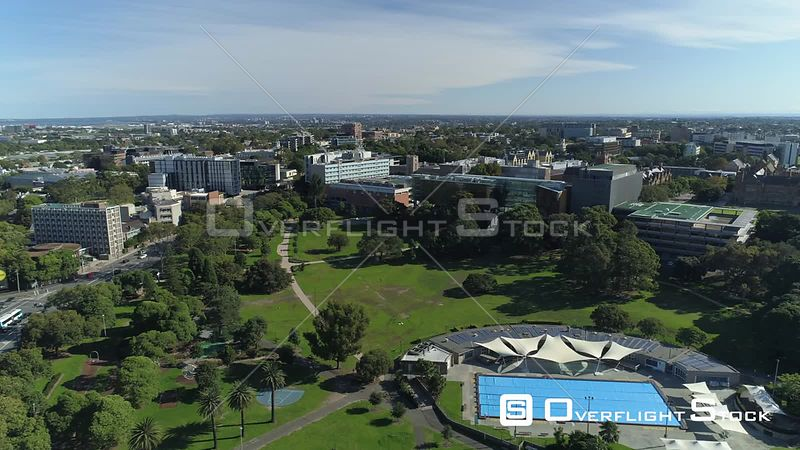 Drone Video Victoria Park Sydney Australia during COVID-19 Pandemic