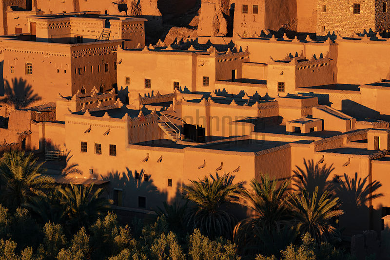 Ksar of Oarzazate at Sunrise