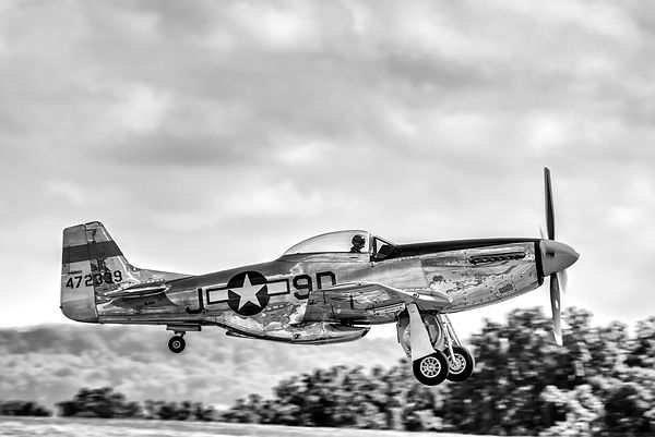 P-51D Mustang Airborne