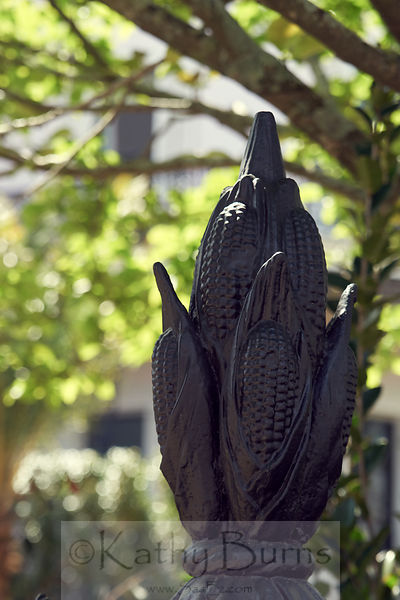 New Orleans cornstalk fence top