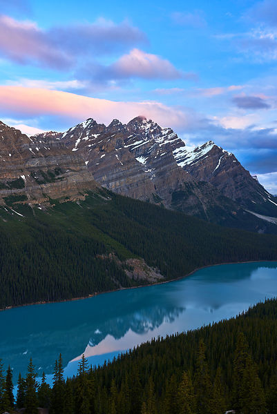 Peyto Lake Sunrise