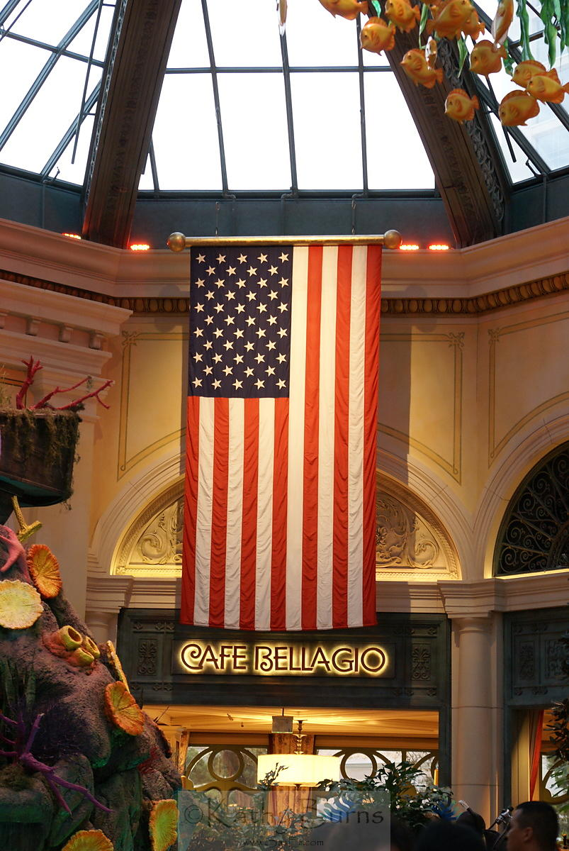 American Flag in Las Vegas