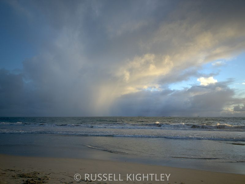Storms over Cottesloe Beach