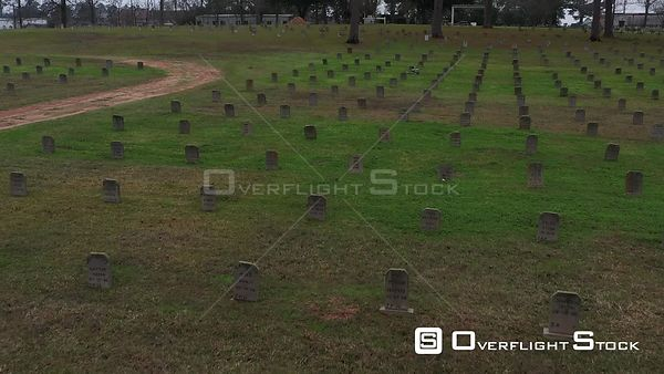 Texas Prisoner Cemetery and Headstones, Huntsville, Texas, USA