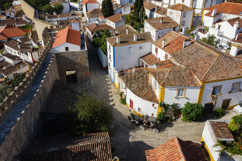 Rooftops of Óbidos