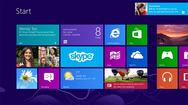 Windows 8 Desktop Global Ad Campaign