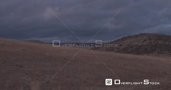Drone Video Grasslands Oregon