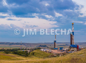 Three Bakken Directional Wells