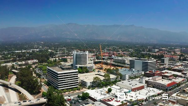 Drone Video Pasadena California Parsons Building