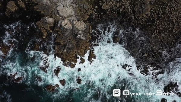 Top Down Point Pinos Pacific Grove Monterey Peninsula California Drone View