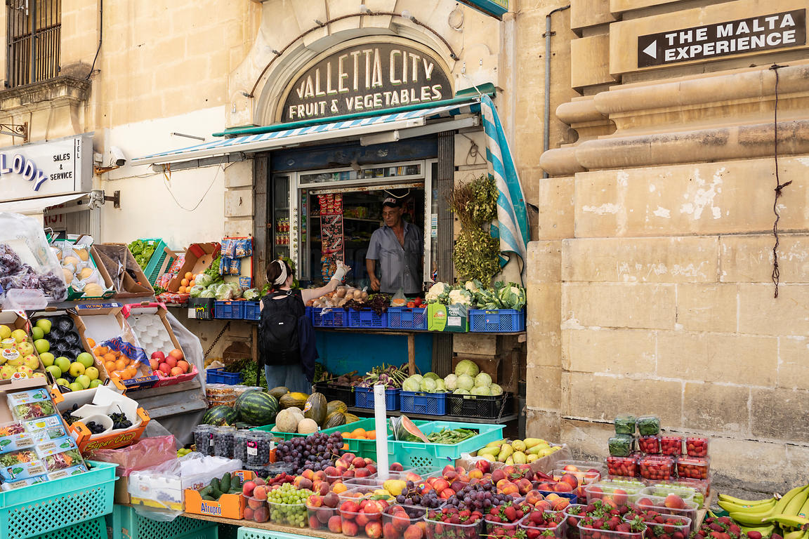 Valletta City Fruit & Vegetable Store
