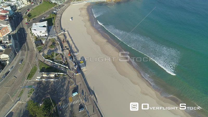 Drone Video Bondi Beach Sydney Australia during COVID-19 Pandemic