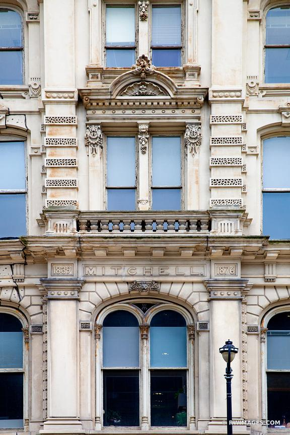 THE MITCHELL BUILDING FACADE DOWNTOWN MILWAUKEE WISCONSIN HISTORIC ARCHITECTURE LANDMARK COLOR VERTICAL