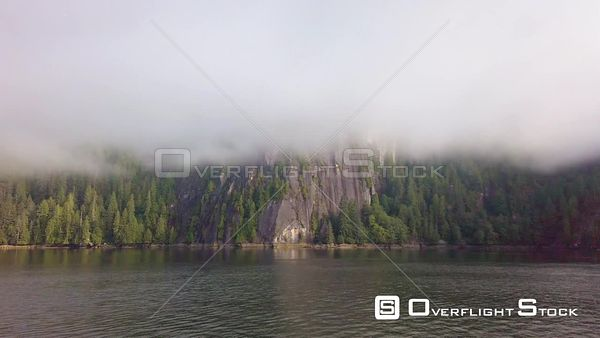 Misty Fjords National Monument Alaska Drone View